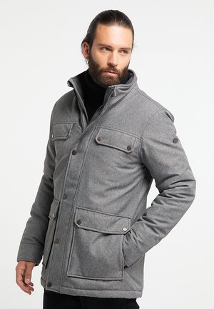 Winter jacket - grau melange