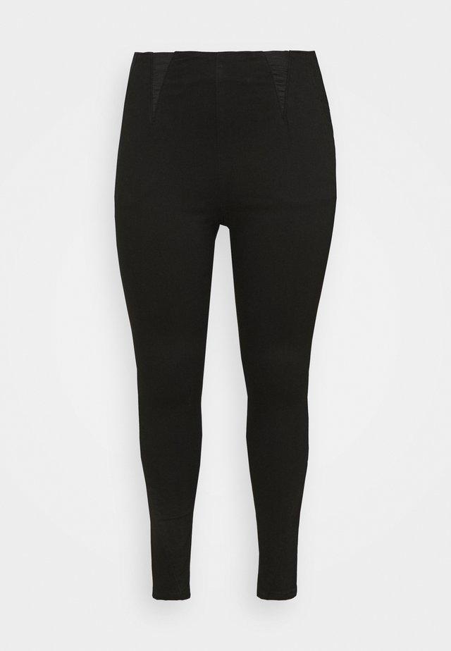 HIGH WAIST SHAPER  - Skinny džíny - black