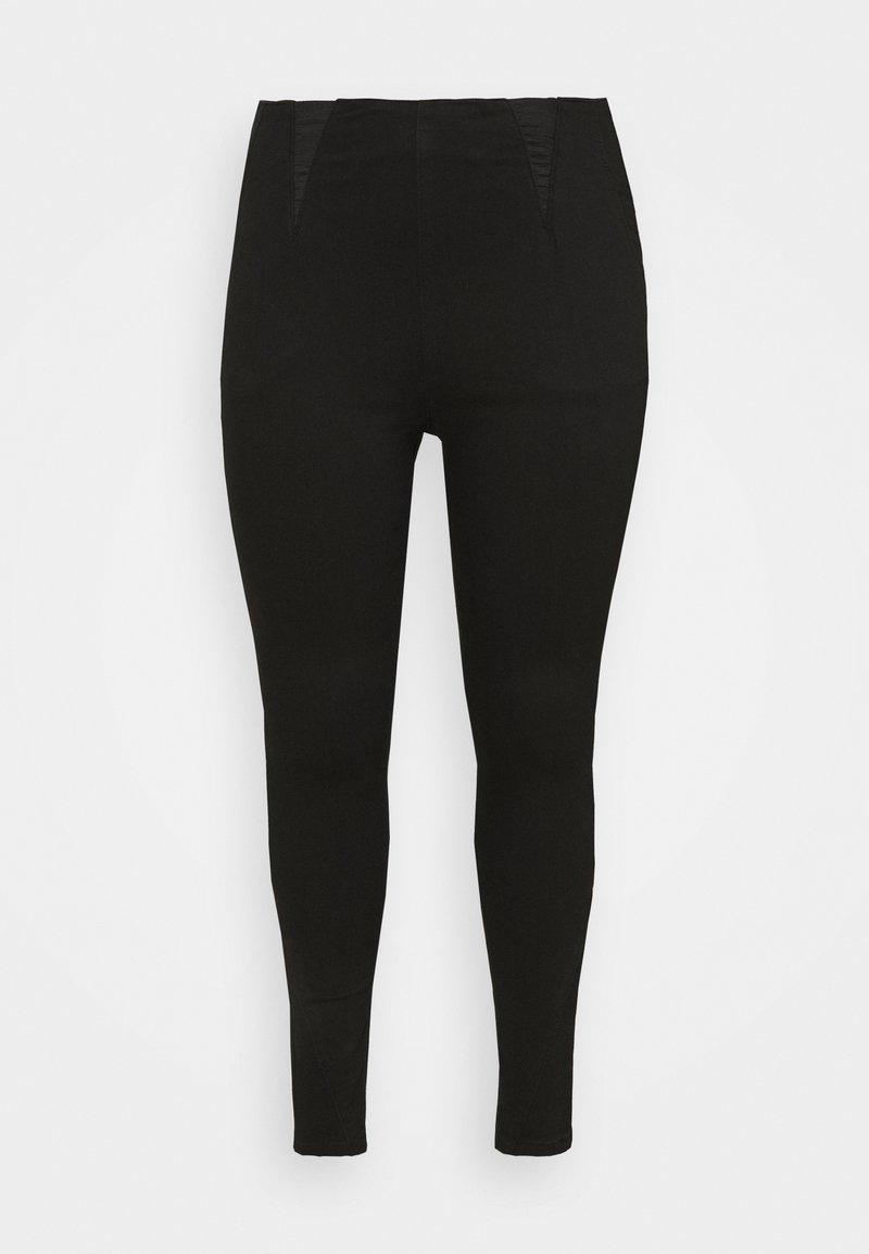 Simply Be - HIGH WAIST SHAPER  - Jeans Skinny - black