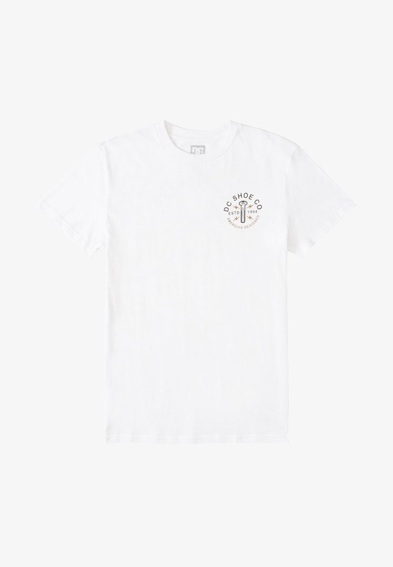 DC Shoes AROUND THE CLOCK - T-Shirt print - SAND/beige qxNCdC