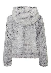 Noisy May - Fleece jacket - light grey melange - 1