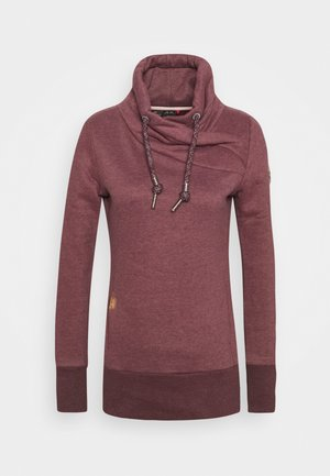 NESKA - Sweatshirt - wine red