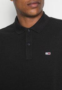 Tommy Jeans - CLASSICS LONGSLEEVE - Polo shirt - black - 4