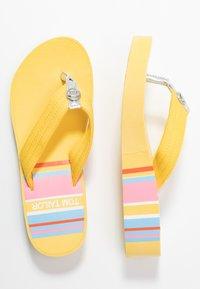 TOM TAILOR - Sandály s odděleným palcem - yellow - 3