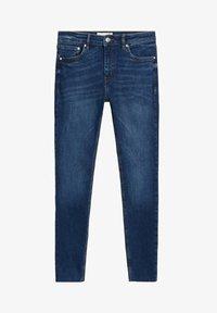 Mango - SKINNY JEANS IN 7/8-LÄNGE ISA - Jeans Skinny Fit - dunkelblau - 5