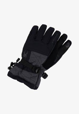 OVERWEB - Rękawiczki pięciopalcowe - ebony