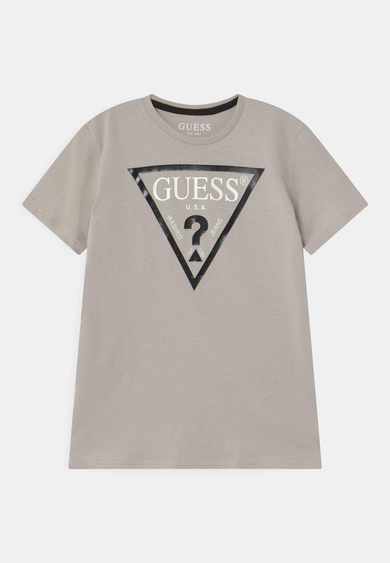 Guess - JUNIOR CORE - T-shirt print - stone white