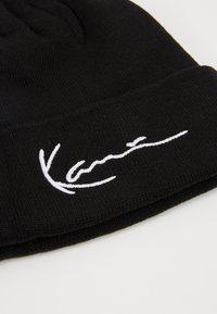 Karl Kani - SIGNATURE BEANIE - Berretto - black - 5