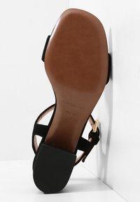 L'Autre Chose - MID HEEL - Sandals - nero - 5