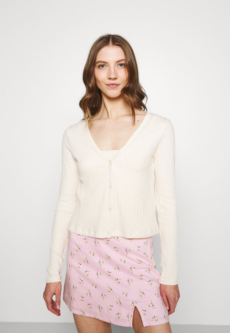 Nly by Nelly - CARDIGAN SET - Top - creme