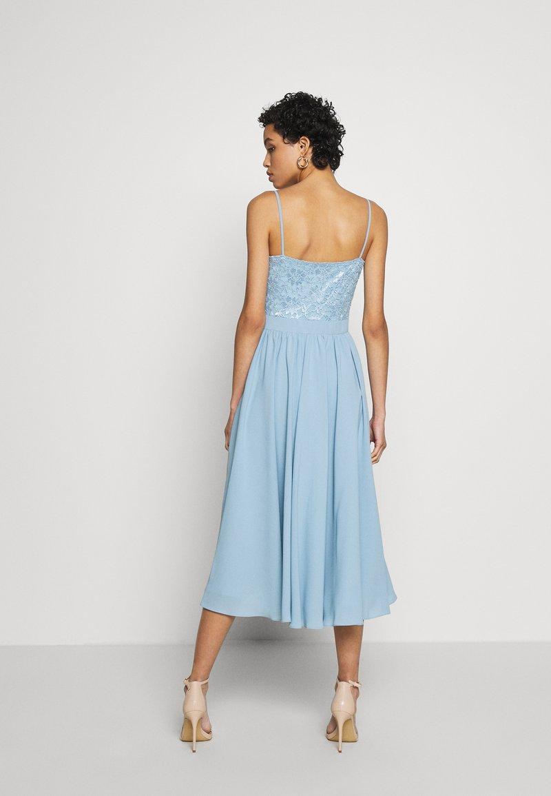 Cocktailkleid/festliches Kleid - taubenblau