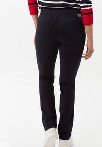 BRAX - STYLE LAVINA - Trousers - dark blue - 1