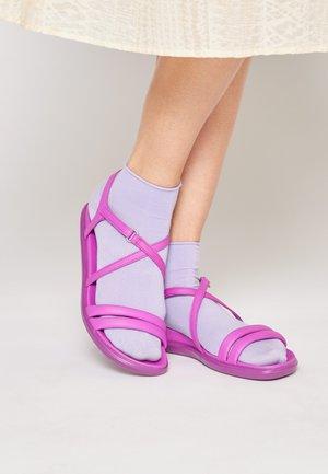 SIMPIL  - Sandals - phlox neon