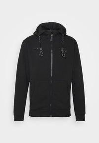 INDICODE JEANS - CAYCE - Zip-up hoodie - black - 4