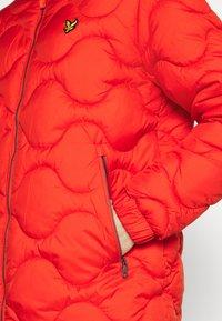 Lyle & Scott - WADDED JACKET - Light jacket - burnt orange - 5