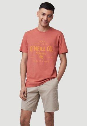 W-COAST - T-shirt print - redwood