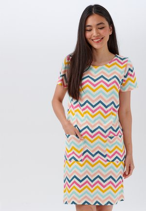 ARIANE RIO CHEVRON JERSEY - Jersey dress - multi