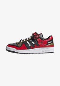 adidas Originals - FORUM LOW SIMPSONS DUFF UNISEX - Zapatillas - red/core black/ftwr white - 0