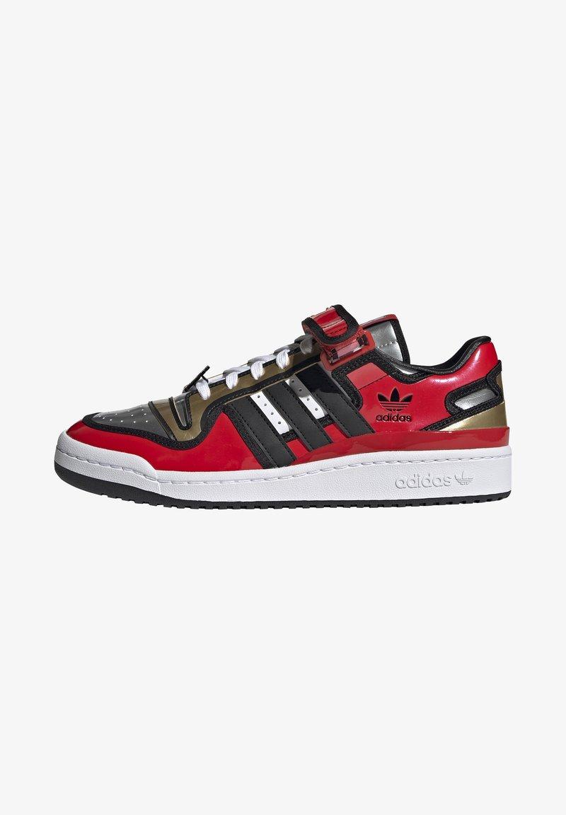 adidas Originals - FORUM LOW SIMPSONS DUFF UNISEX - Zapatillas - red/core black/ftwr white