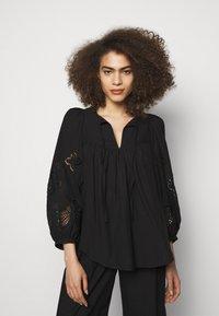 See by Chloé - T-shirt à manches longues - black - 0