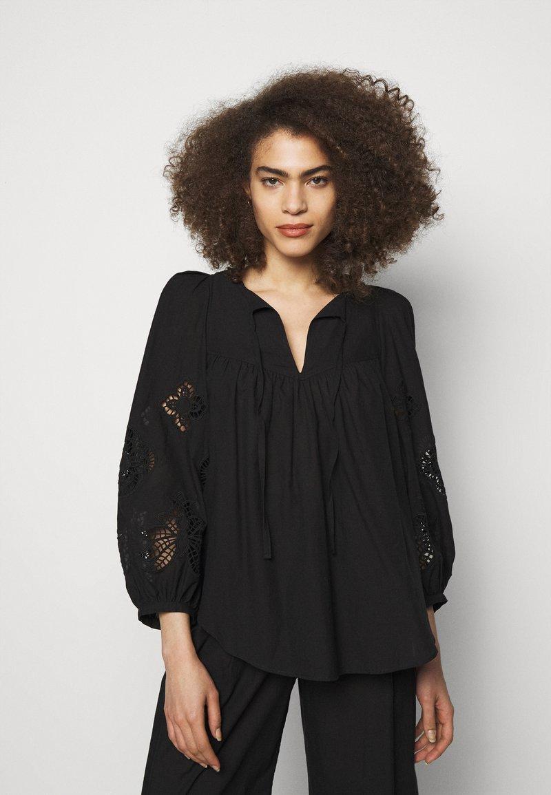 See by Chloé - T-shirt à manches longues - black