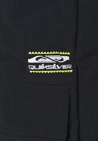 Quiksilver - LAND SLIDE VEST - Waistcoat - black - 5
