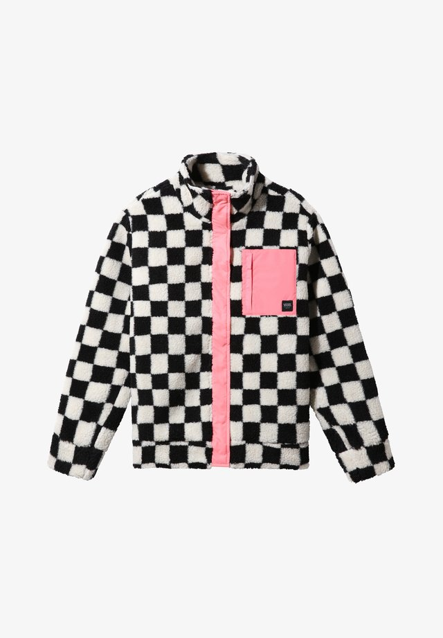 EMBERS - Fleece jacket - checkerboard