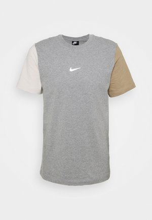 TEE - T-shirt med print - dark grey heather