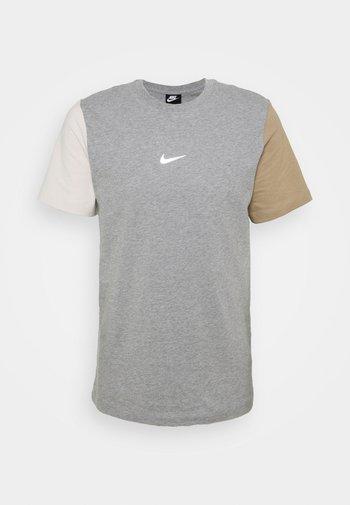 TEE - Print T-shirt - dark grey heather