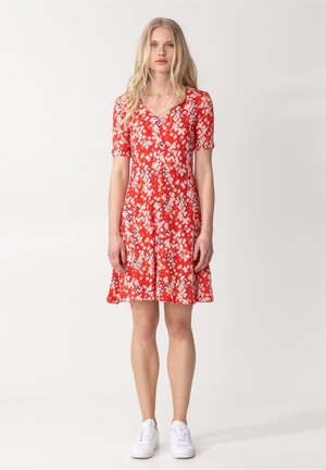 CLAIRE - Robe en jersey - red