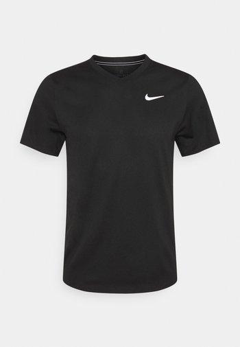 T-shirt basic - black/black/white