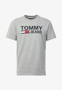 Tommy Jeans - CLASSICS LOGO TEE - T-shirt con stampa - grey - 3