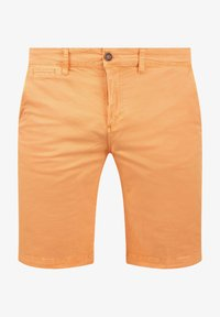 Solid - RON - Denim shorts - orange chi - 3