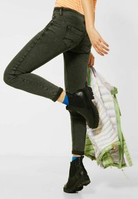 Street One - Jeans Skinny Fit - grün - 2