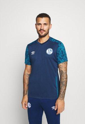 FC SCHALKE 04 TRAINING - Klubové oblečení - navy/blue sapphire