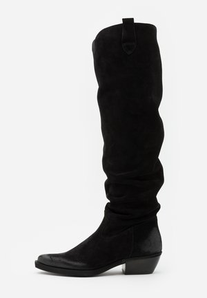 EL PASO - Over-the-knee boots - nirvan nero