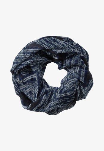 Scarf - dark blue/light blue
