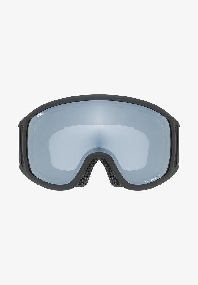 MANDANT UVEX TOPIC FM SPHERIC - Ski goggles - black mat