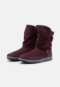 Kappa - CREAM UNISEX - Winter boots - purple/silver - 1