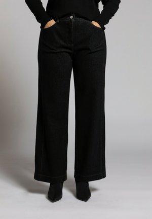 Straight leg jeans - winter grey melange