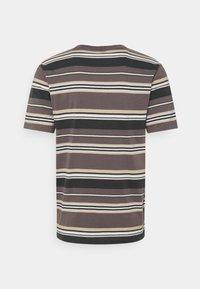 Brixton - HILT ALTON - Print T-shirt - washed black/cloud - 1