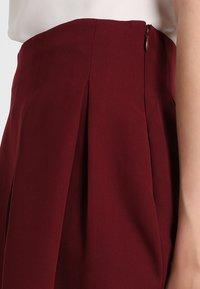 mint&berry - A-line skirt - bordeaux - 4