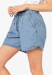 Sublevel - Denim shorts - middle-blue - 2