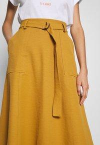 Gestuz - LIYA SKIRT - A-line skirt - bone brown - 4