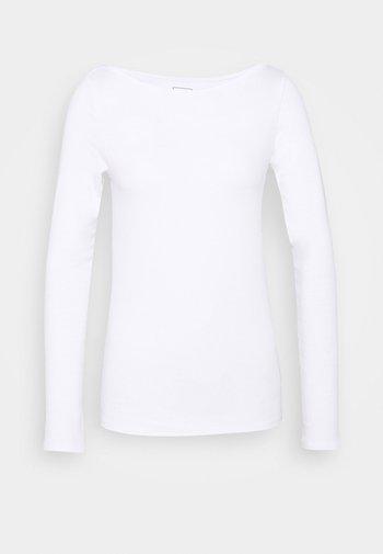 BATEAU - Long sleeved top - fresh white