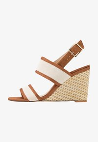 Clarks - IMAGE WEAVE - High heeled sandals - tan - 1