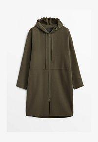 Massimo Dutti - Down coat - brown - 0