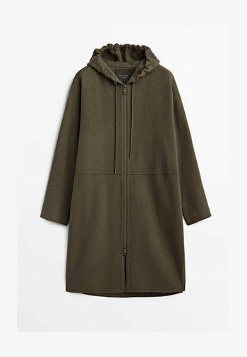 Down coat - brown