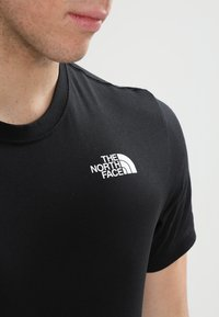 The North Face - REDBOX CELEBRATION TEE - T-shirt print - black - 3