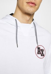 Armani Exchange - Hoodie - white/black - 4
